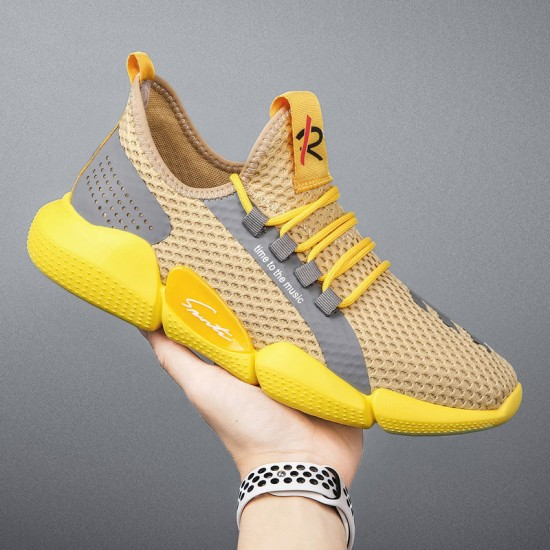 BBPSHOP Men's Sneakers, Two-tone, easy to wear, comfortable, feet must be arranged.