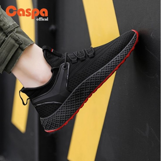Caspa, men's canvas shoes, beautiful shape, tie, rope, durable to use, model T14M